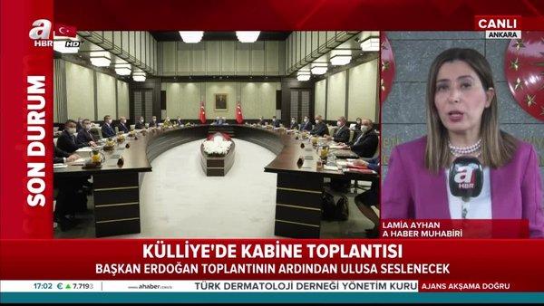 Son dakika:Cumhurbaşkanlığı Kabinesitoplandı!