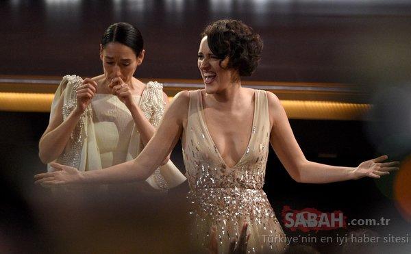 71. Emmy Ödülleri gecesine böyle damga vurdu! İşte 71. Emmy Ödülleri gecesinden dikkat çeken görüntüler...