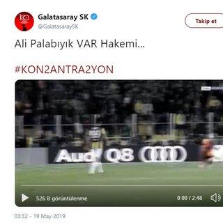 Son dakika haberi! Galatasaray - Başakşehir maçı öncesi şok Ali Palabıyık paylaşımı