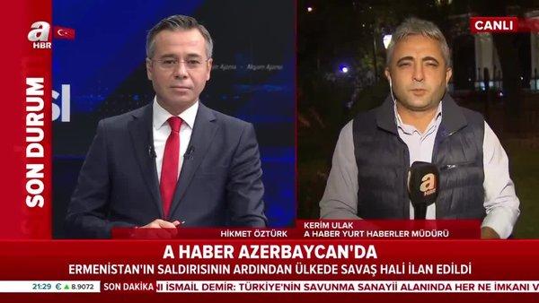 Sıcak noktada neler yaşanıyor? A Haber Azerbaycan-Ermenistan hattından aktardı | Video