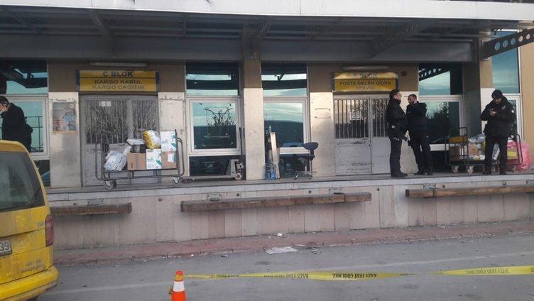 Konya PTT'nin kargo bölümünde patlama: 2 yaralı
