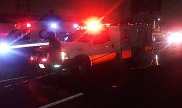 Meksika'da 3 yolcu otobüsü çarpıştı: 13 ölü