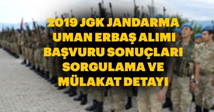 Jandarma uzman erbaş alımı başvuru sonuçları 2019 hemen sorgula! JGK Jandarma uzman erbaş başvuru sonuçları ve mülakat bilgisi