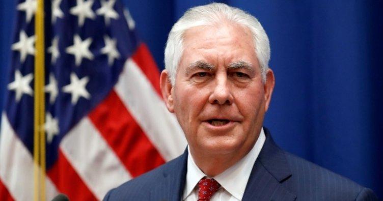 ABD Dışişleri Bakanı Tillerson'dam flaş Kuzey Kore açıklaması