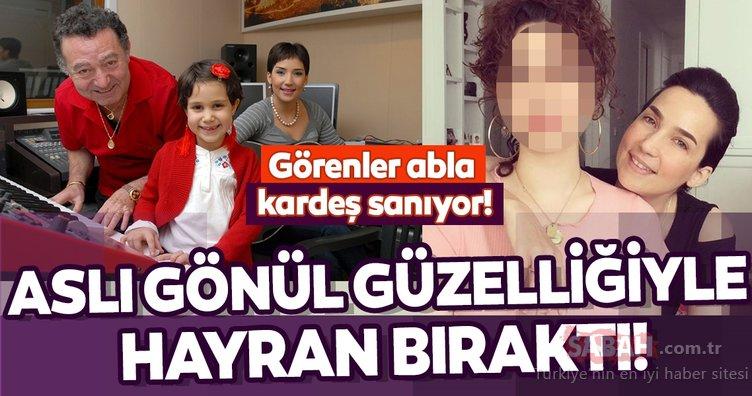 Kayahan ile İpek Açar'ın kızları Aslı Gönül'ü görenler güzelliğine hayran kalıyor! Görenler abla kardeş sanıyor!