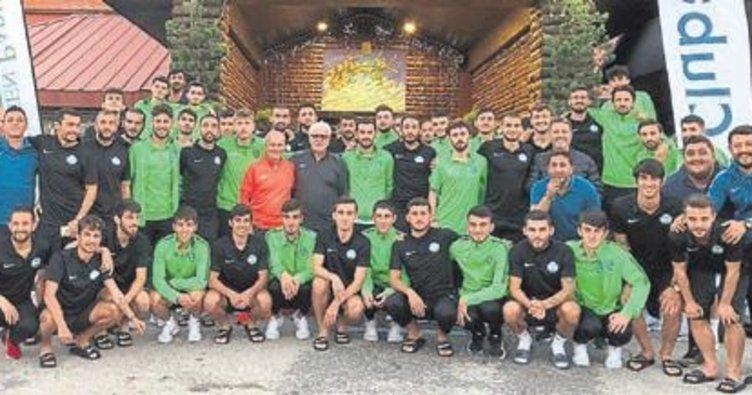 Serik Belediyespor'un Kartepe kampı sona erdi