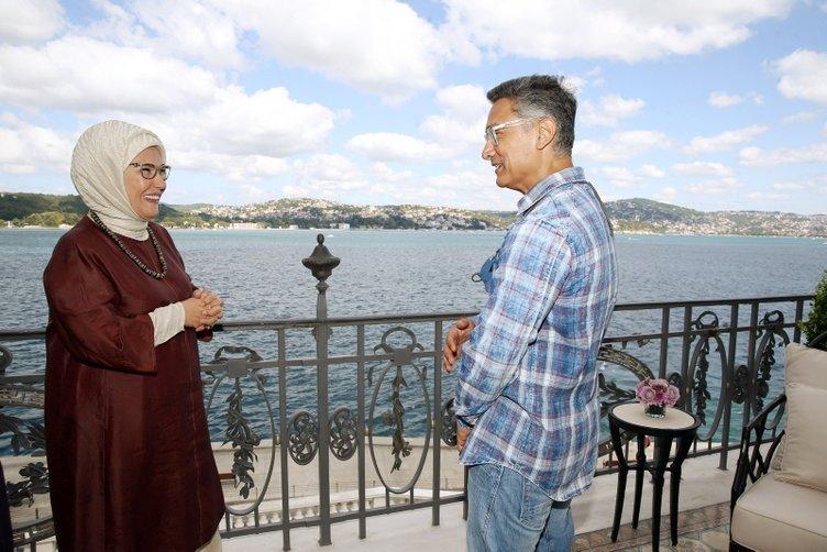 Emine Erdoğan, Hint sinemasının ünlü aktörü Aamir Khan'ı kabul etti