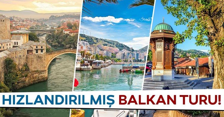 Balkanlar'da geziyorum yemeye ve tarihe doyuyorum