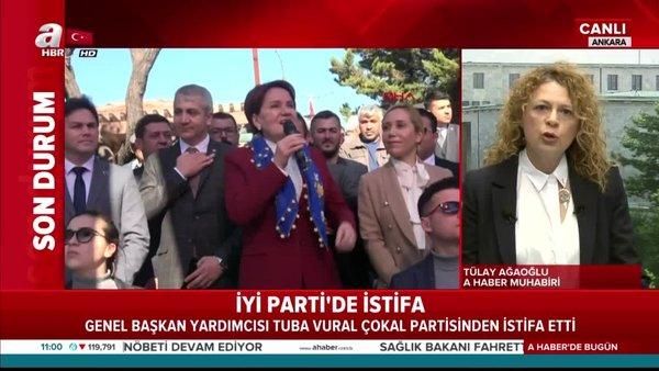 Son dakika! İYİ Parti'de istifalar art arda | Video