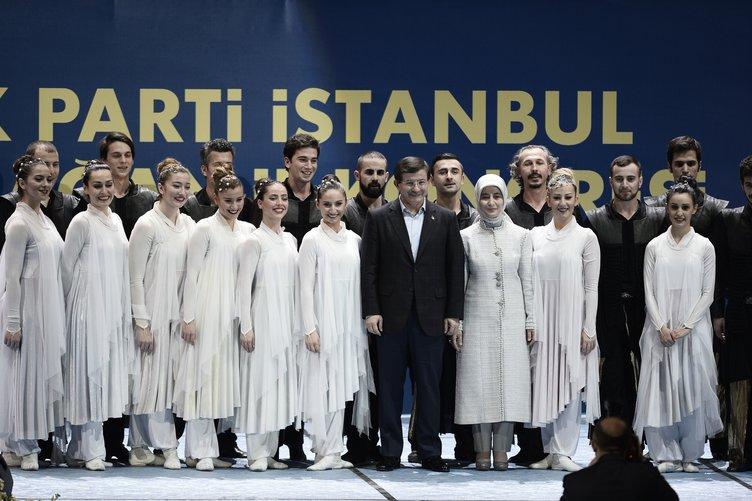 AK Parti İstanbul 5. Olağan İl Kongresi'nden kareler