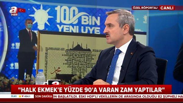 AK Parti İstanbul il Başkanı Bayram Şenocak'tan canlı yayında önemli açıklamalar   Video