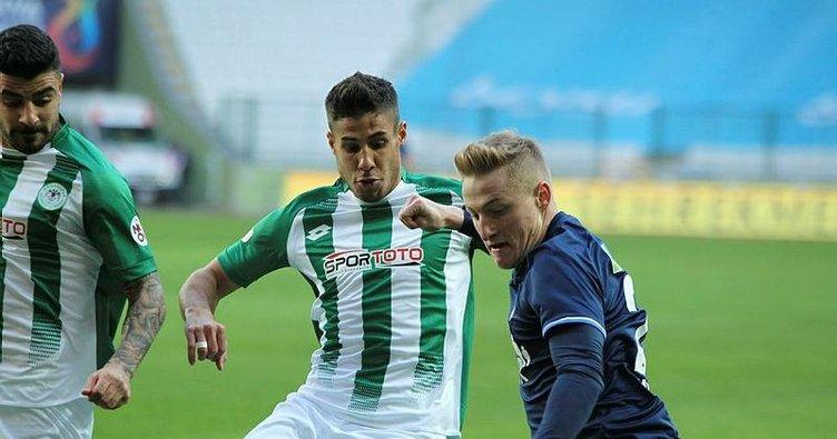 Konyaspor 89'da 3 puanı kaptı! Konyaspor 2-1 Kasımpaşa