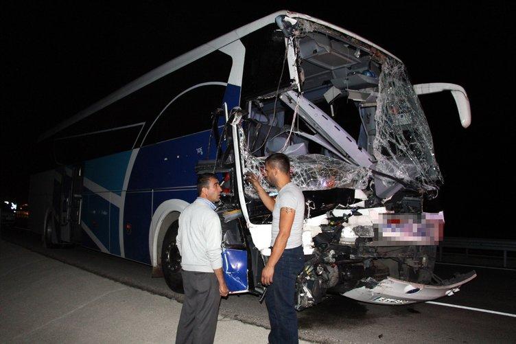 Isparta'da korkunç kaza: Ölü ve yaralılar var!