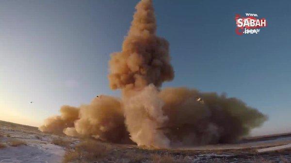 Rusya'dan yeni hava savunma sistemi testi | Video