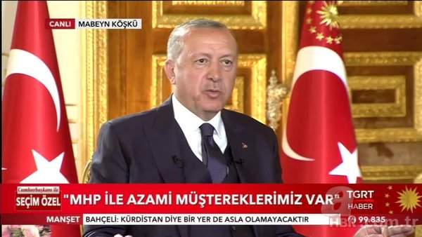 Başkan Erdoğan: CHP İstiklal Marşı'na karşı olan birisiyle oluyor, Erdem Gül