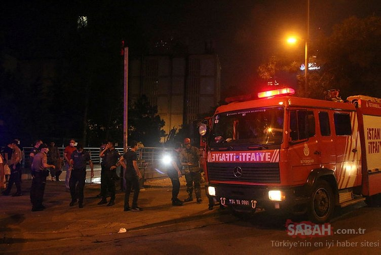 Levent'te metro istasyonunda raylara atlayan kadın ağır yaralandı