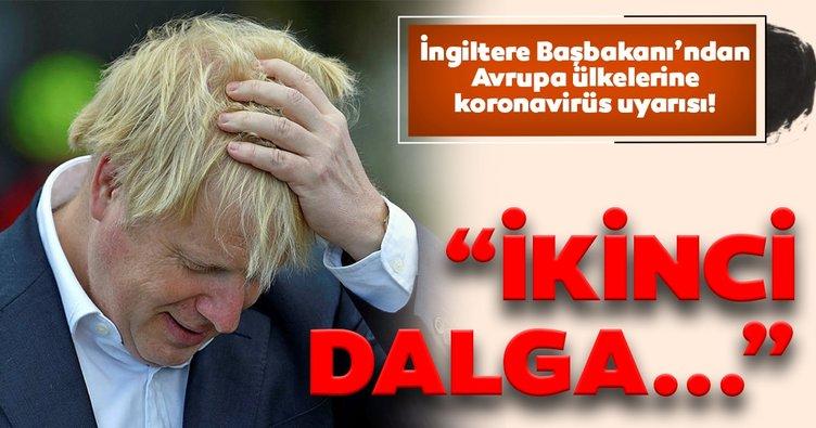 İngiltere Başbakanı Johnson'dan korkutan coronavirüs açıklaması! İkinci dalganın işareti...