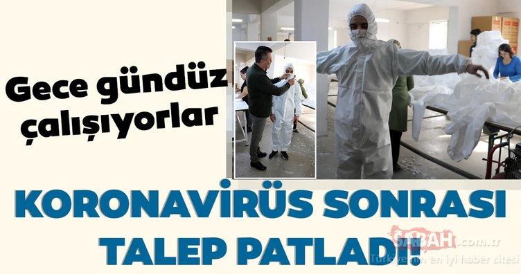 Koronavirüs nedeniyle 1 milyon tulum talebi geldi