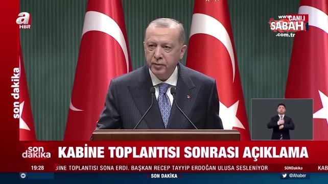 Son dakika haberi: Başkan Recep Tayyip Erdoğan'dan önemli açıklamalar   Video