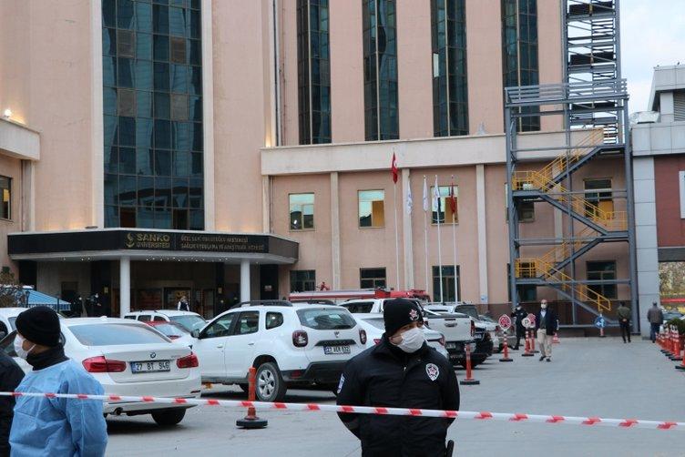 Son dakika: Gaziantep'te özel hastanede patlama ölü ve yaralılar var