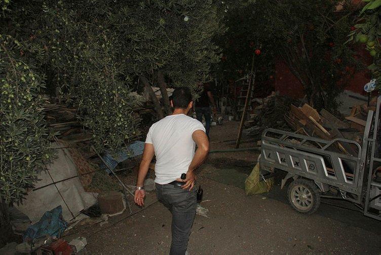 Hırsızlar kaçtı polis kovaladı