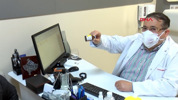 Prof. Dr. Demiray'dan flaş corona virüsü tedavisinde C vitamini kullanımı açıklaması | Video