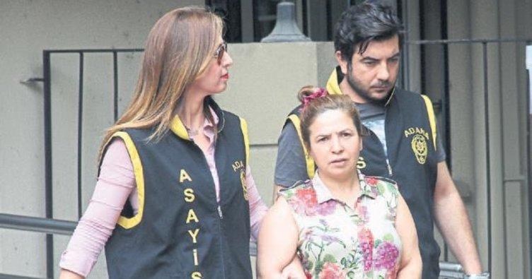 Çete lideri kadın Adana'da yakalandı