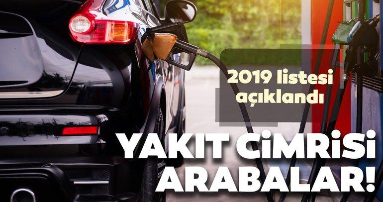 En az yakan arabalar 2019! Yakıt tüketimi düşük olan otomobiller açıklandı