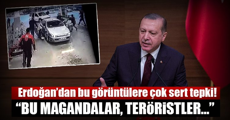 Cumhurbaşkanı Erdoğan'dan Ankara'da gazilere yapılan saldırıya sert tepki