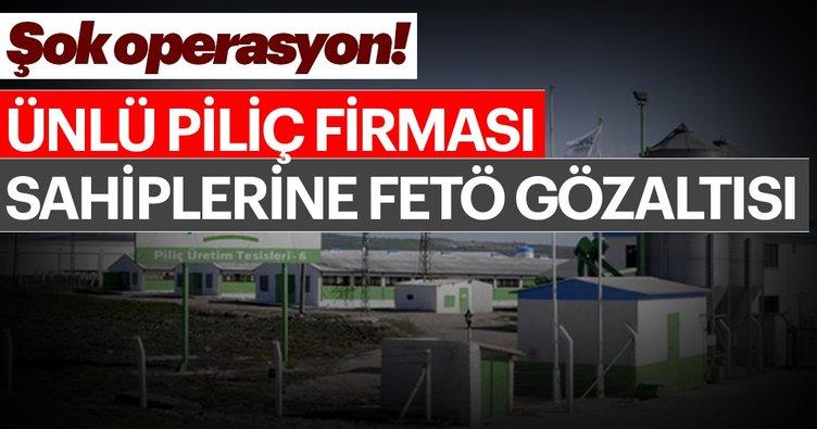 Son dakika: Balıkesir'de piliç firması sahibi 2 kişiye FETÖ gözaltısı