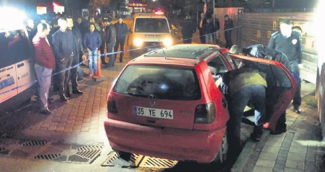 Arkadaşının otomobilinde cesedi bulundu