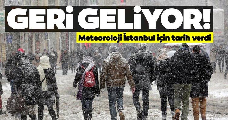 Son dakika haberler: İstanbul'a bu hafta kar yağışı geri geliyor! Meteoroloji'den İstanbul ve birçok il için hava durumu ve kar uyarısı