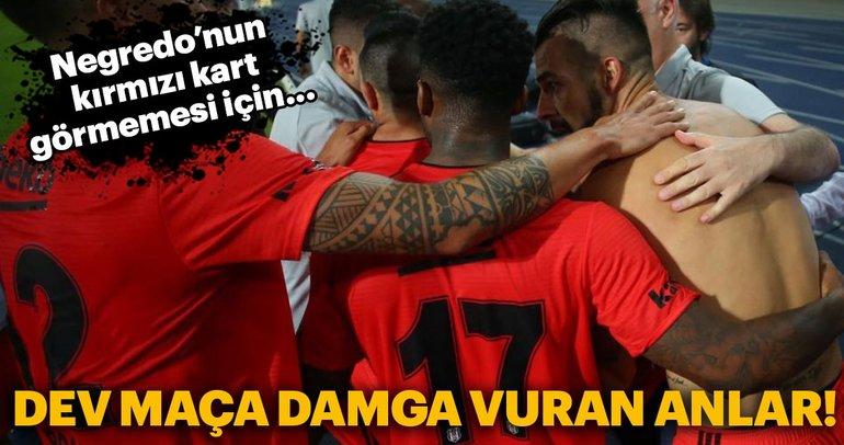 LASK Linz - Beşiktaş maçından kareler