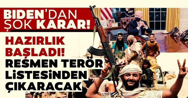 ABD Başkanı Joe Biden'dan Yemen hamlesi! Artık terör örgütü olarak anılmayacak