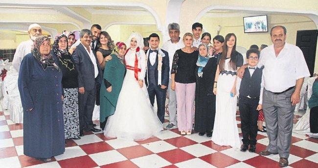 Betül ile Hamit Hatay'da evliler kervanına katıldı