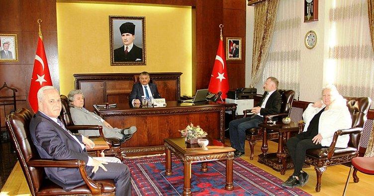 Engelli dernekleri Vali Yazıcı'yı ziyaret etti