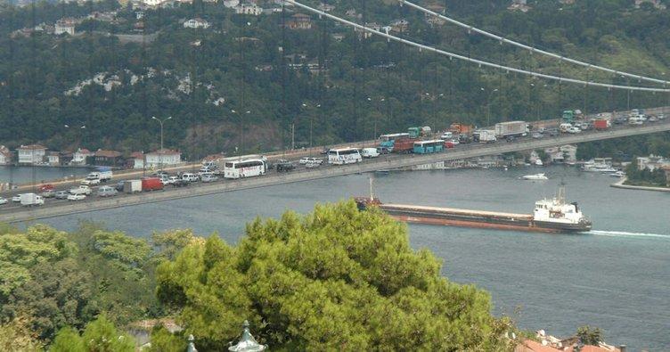 Fatih Sultan Mehmet Köprüsü'nde intihar