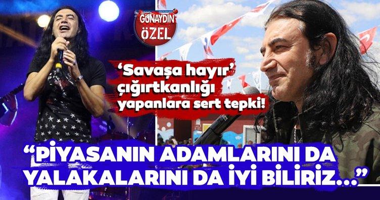 Şarkıcı Murat Kekilli 'Piyasanın adamlarını da yalakalarını da biliriz'