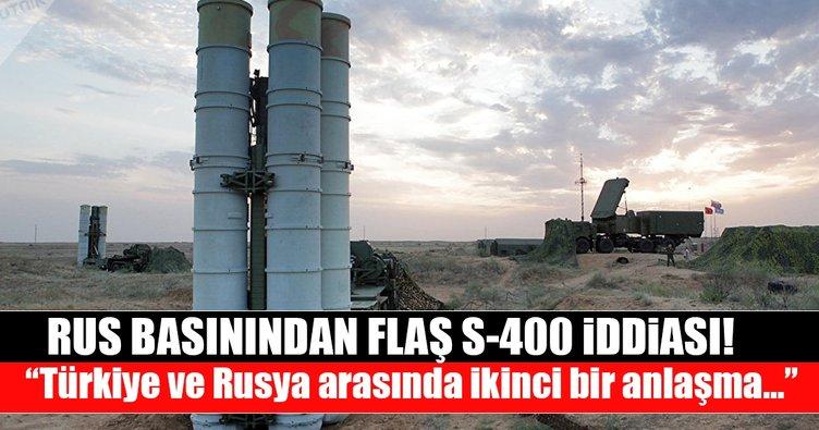 Rusya ve Türkiye'nin ikinci S-400 anlaÅ?ması imzalamayı planladıÄ?ı iddia edildi!