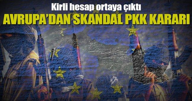 Avrupa'dan skandal PKK kararı