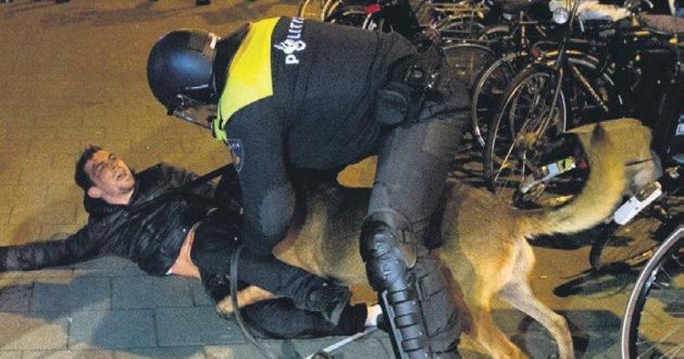 Hollanda polisi ırkçılığı abarttı