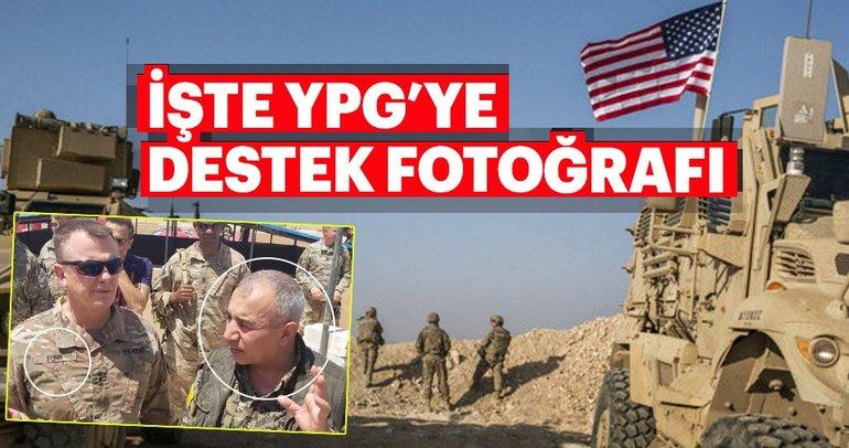 Resmi hesapta, ABD'li generalin DSG sorumlusu ile fotoğrafı yayımlandı!