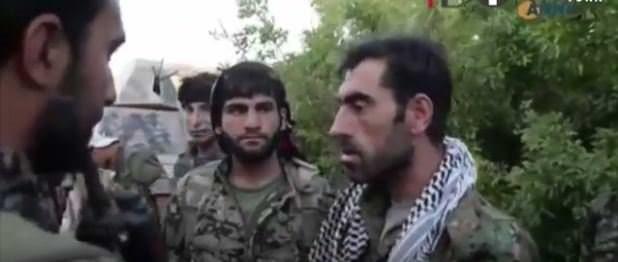 Gültan Kışanak ve diğer BDP'lilerin kucaklaştığı PKK'lı şimdi YPG'ye komutanlık yapıyor