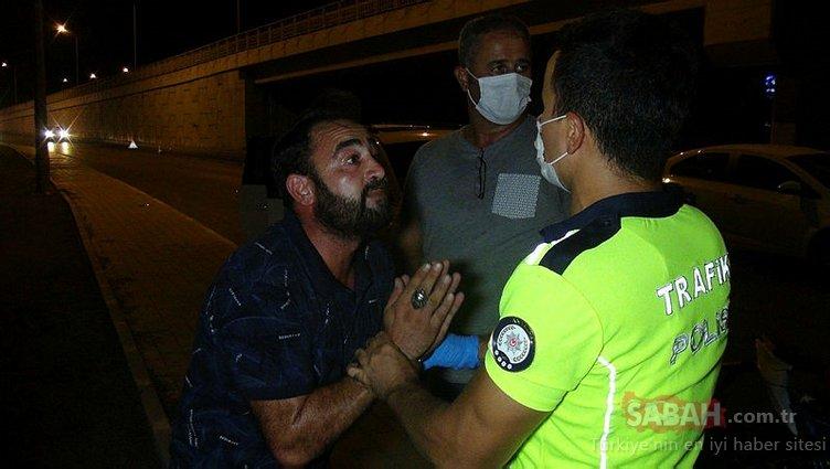 Ehliyetsiz oğlu kaza yapan babanın savunması pes dedirtti