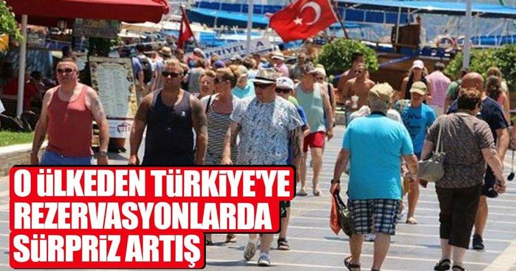 Türkiye'de tatil için rezervasyonlarda artış var