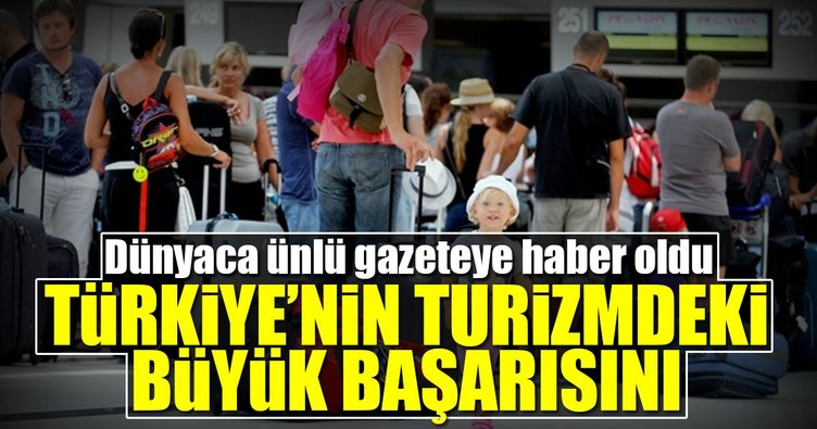 FT: Turistler Türkiye'ye dönüyor