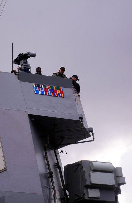 ABD savaş gemisi USS Ross 71 Marmaris'e geldi