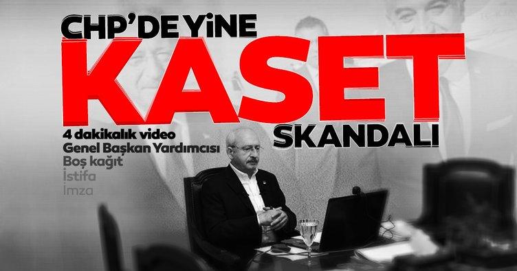 Son dakika haberi: CHP'de yeni kaset skandalı! Vekilin istifa nedeni belli oldu