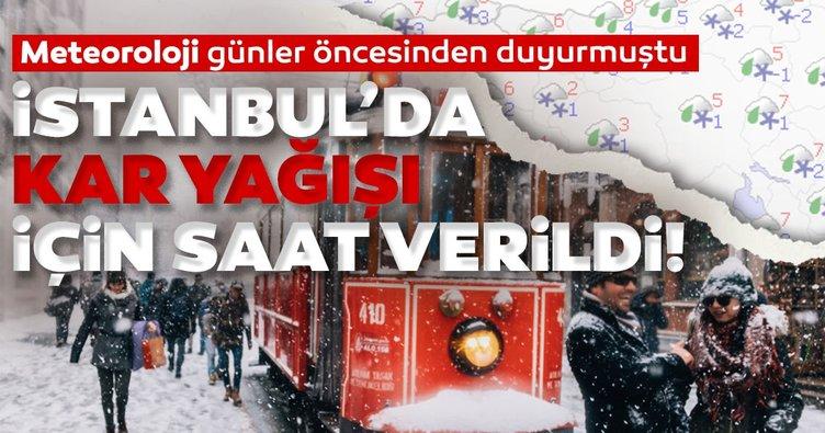İstanbul'da kar yağışı ne zaman başlıyor? Meteoroloji'den son dakika hava durumu uyarısı geldi