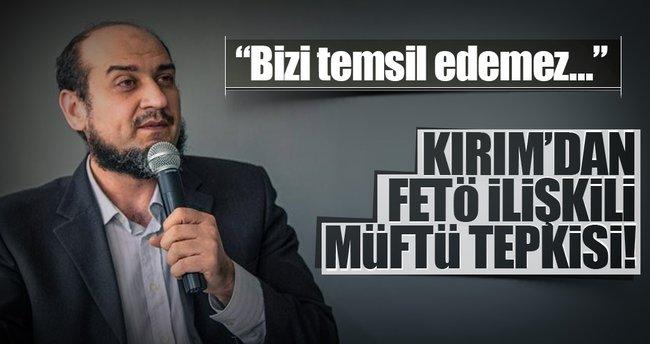 Kırım'dan, FETÖ ilişkili müftü tepkisi